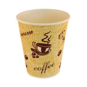 8oz Red Bean Ripple Wall Takeaway Cup x 500 1