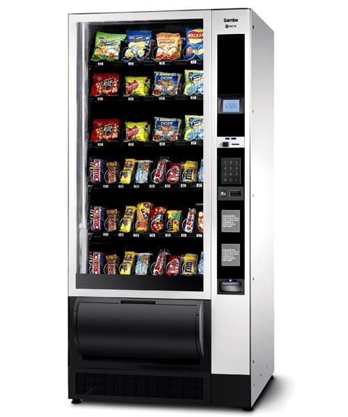 Samba Snack Vending Machine