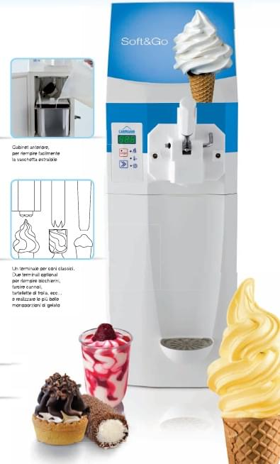 Carpigiani Soft & Go Ice Cream Machine