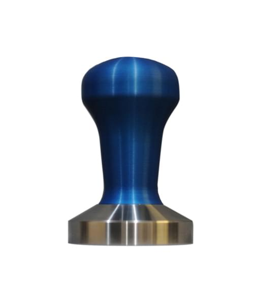 Coffee Tamper Stainless Steel Blue 57mm 1