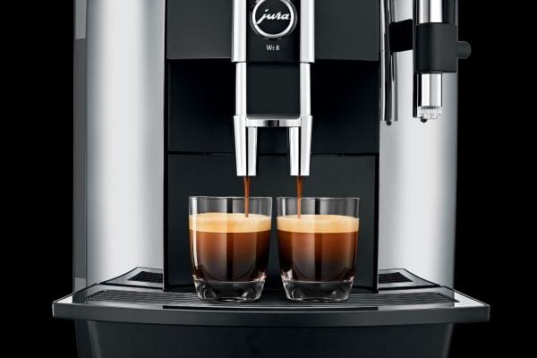 Jura WE8 Commercial Bean to Cup Coffee Machine 13