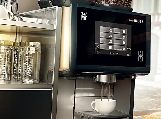 WMF 8000S Commercial Bean to Cup Coffee Machine 8