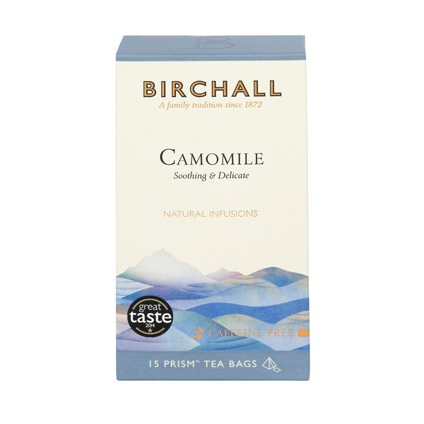Birchall Camomile - 15 x Prism Tea Bags