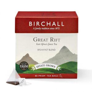 Birchall Great Rift Breakfast Blend x 80 Prism Tea Bags