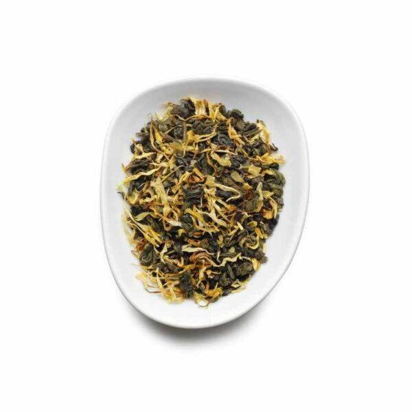 Birchall Green Tea & Peach - 15 x Prism Tea Bags 1