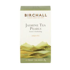 Birchall Jasmine Tea Pearls - 15 x Prism Tea Bags