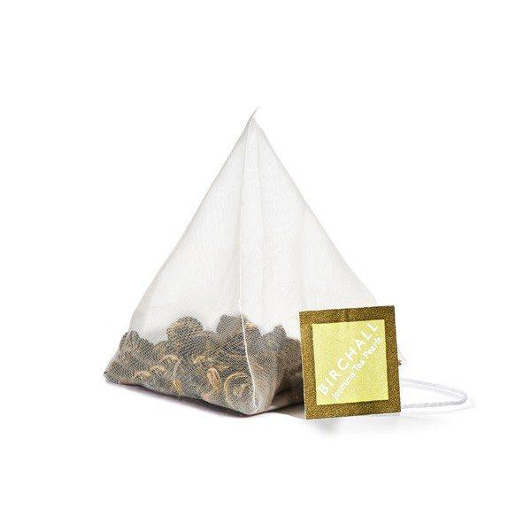 Birchall Jasmine Tea Pearls - 15 x Prism Tea Bags 1