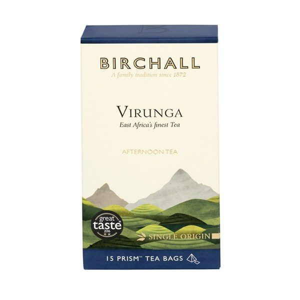 Birchall Virunga Afternoon Tea - 15 x Prism Tea Bags 1