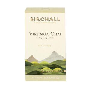 Birchall Virunga Chai - 15 x Prism Tea Bags