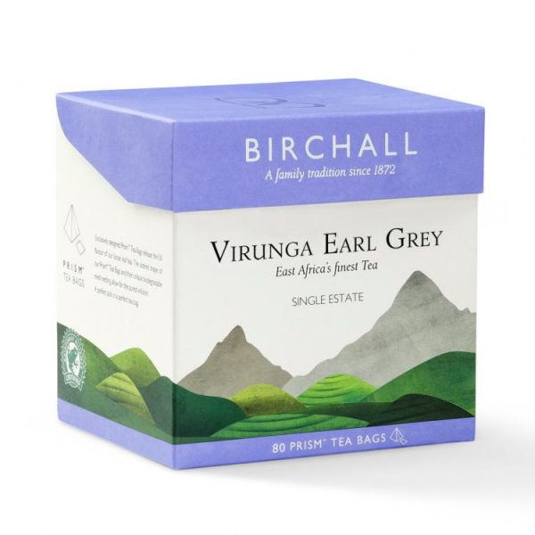 Birchall Virunga Earl Grey - 5 x Prism Tea Bags (Copy) 1