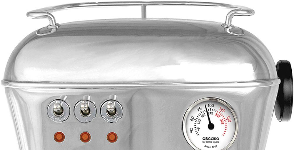Ascaso Dream Home Espresso Machine White Logic Vending