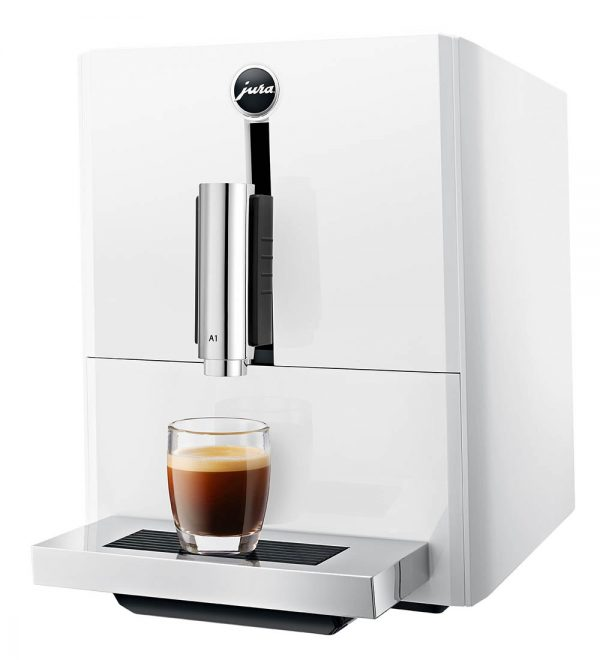 Jura A1 Piano White Home Bean to Cup Machine 3