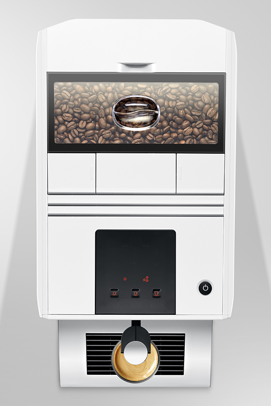 Jura A1 Piano White Home Bean to Cup Machine 4