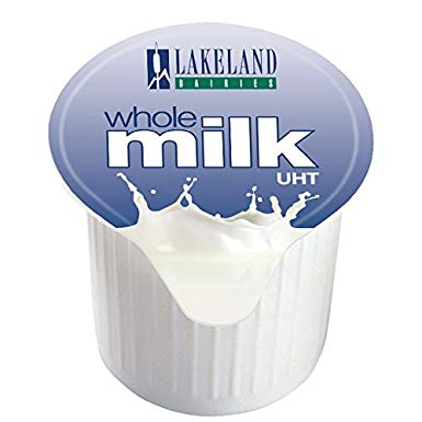Lakeland Dairies Whole Milk Portions UHT 120 x 12ml Portions (Copy)