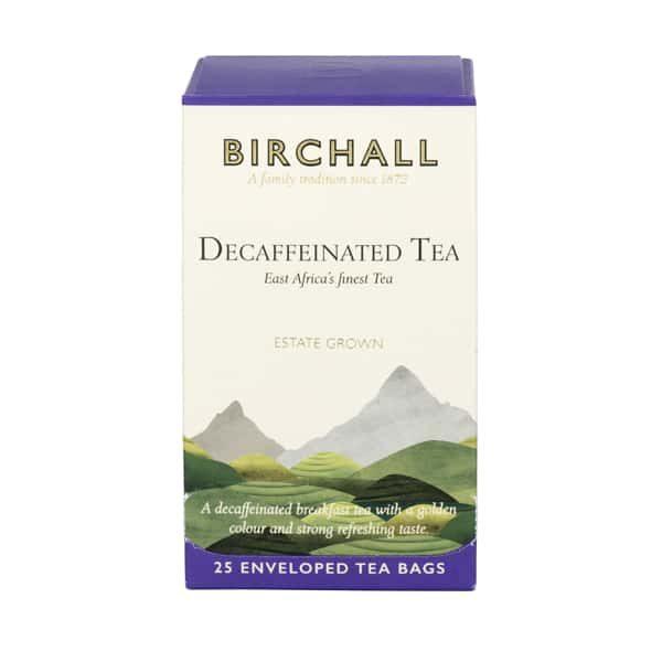 Birchall Decaffeinated Tea- 25 x Enveloped Tea Bags 1
