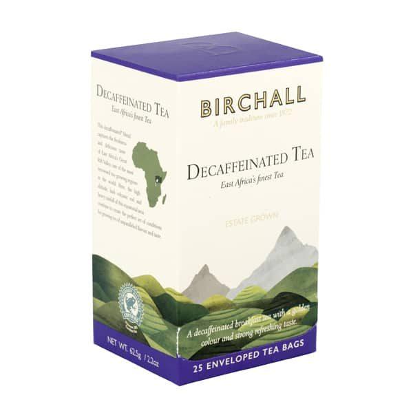 Birchall Decaffeinated Tea- 25 x Enveloped Tea Bags