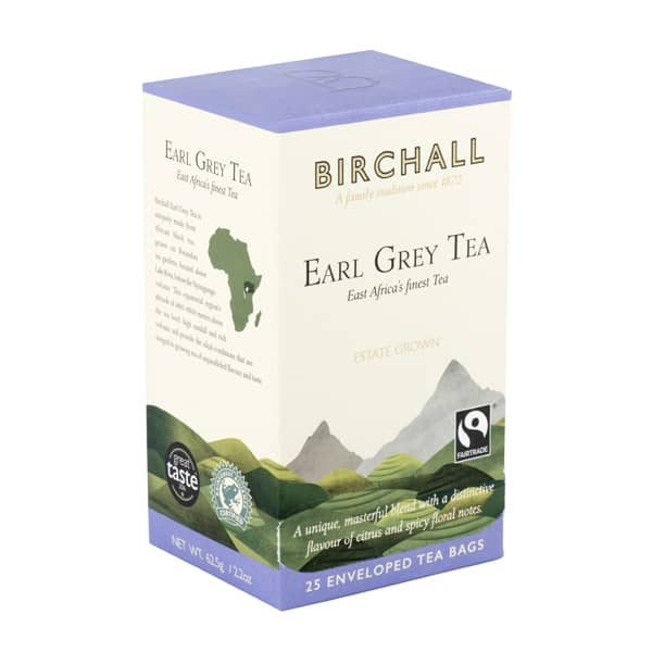 Birchall Earl Grey Tea- 25 x Enveloped Tea Bags