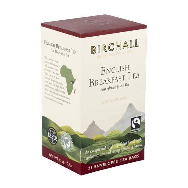 Birchall English Breakfast Tea - 25 x Enveloped Tea Bags 6