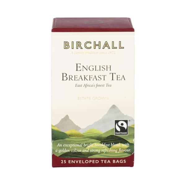 Birchall English Breakfast Tea - 25 x Enveloped Tea Bags 7