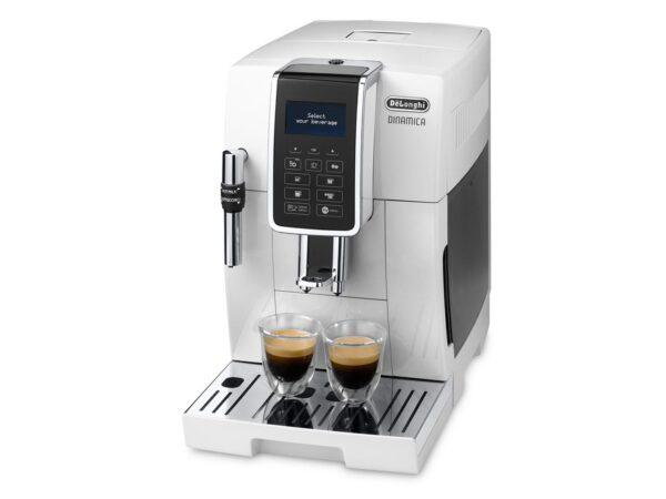 De'Longhi Dinamica Bean to Cup Coffee Machine White ECAM 350.35.W 1