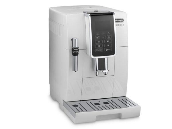 De'Longhi Dinamica Bean to Cup Coffee Machine White ECAM 350.35.W 2