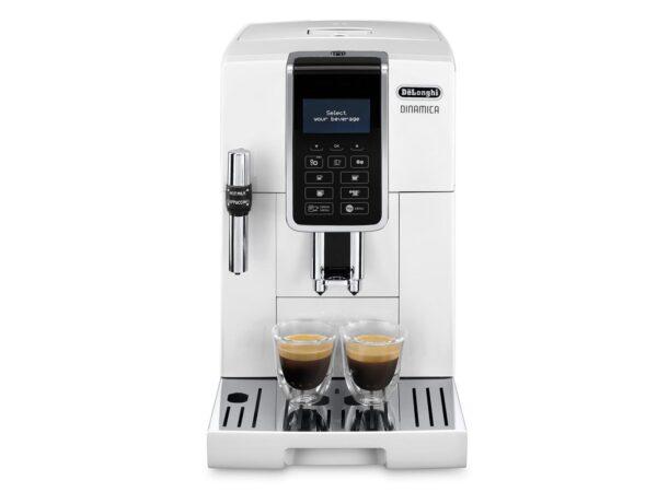 De'Longhi Dinamica Bean to Cup Coffee Machine White ECAM 350.35.W