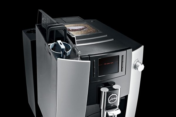 Jura E6 Platinum Home Bean to Cup Coffee Machine 1