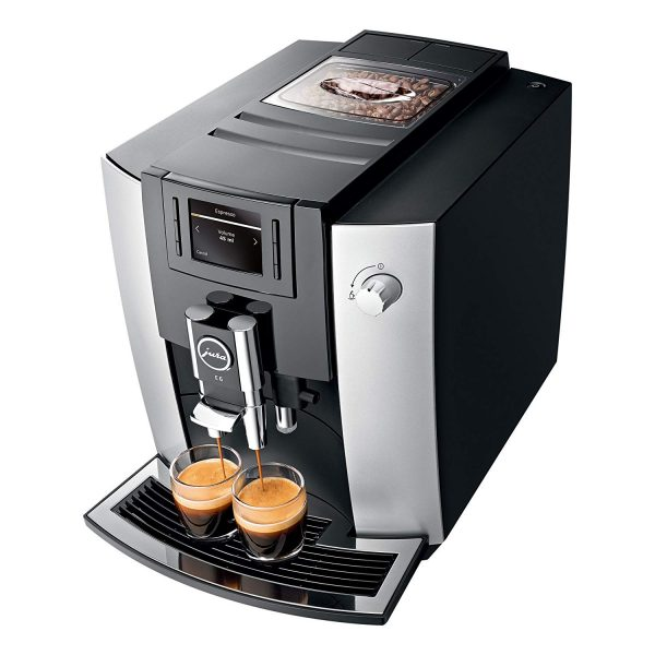 Jura E6 Platinum Home Bean to Cup Coffee Machine 2