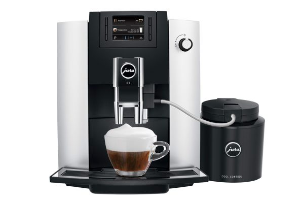 Jura E6 Platinum Home Bean to Cup Coffee Machine 3