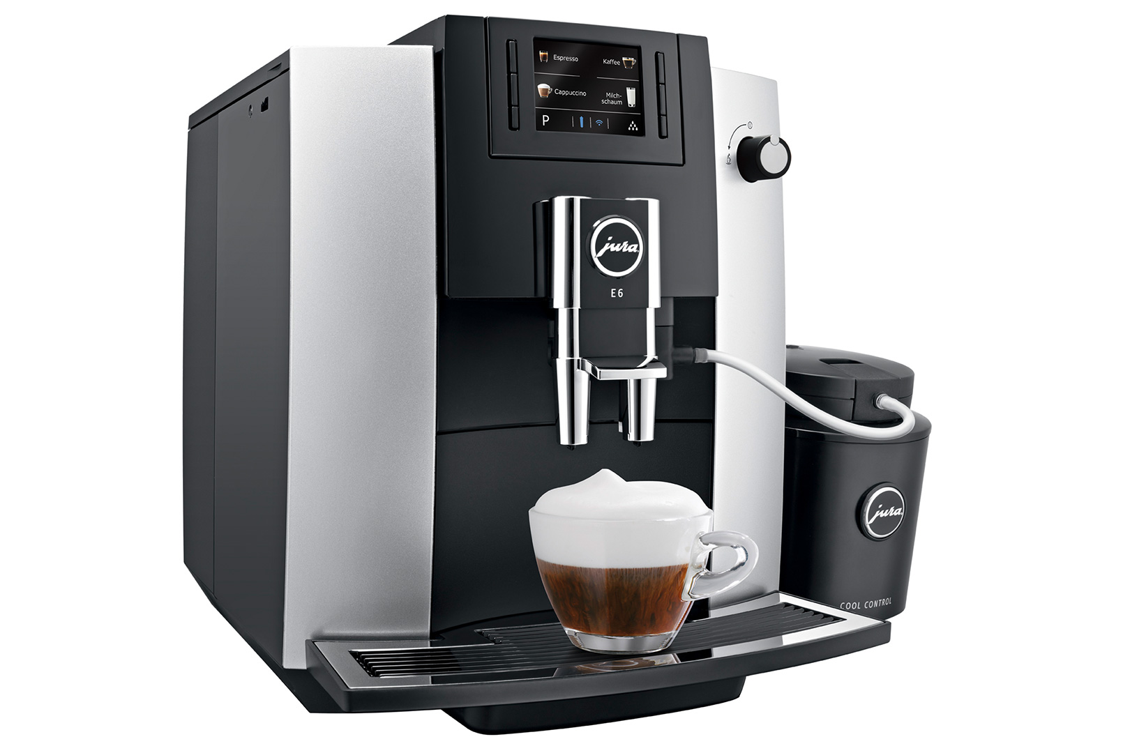 Jura E6 Platinum Home Bean to Cup Coffee Machine - Logic ...