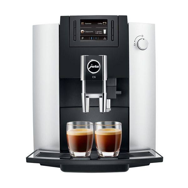 Jura E6 Platinum Home Bean to Cup Coffee Machine