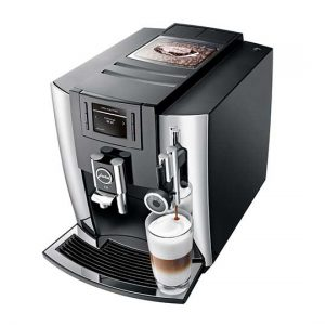 Jura E8 Home Bean to Cup Coffee Machine Chrome 6