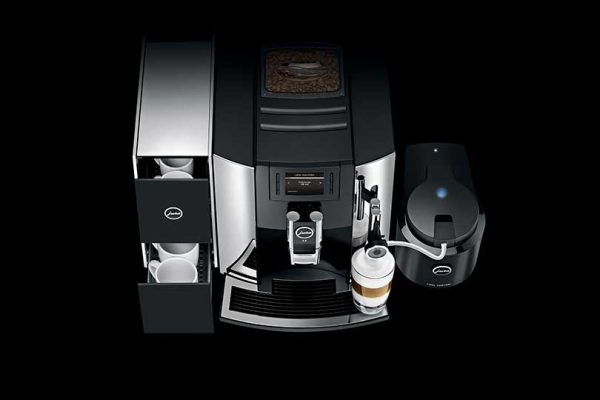Jura E8 Home Bean to Cup Coffee Machine Chrome 8
