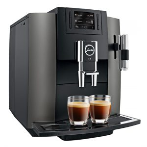 Jura E8 Home Bean to Cup Coffee Machine Dark Inox 3