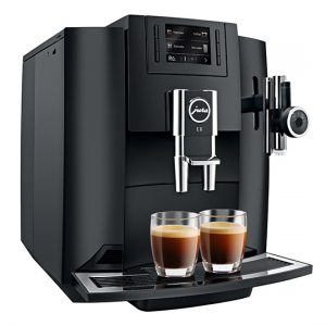 Jura E8 Home Bean to Cup Coffee Machine Piano Black 1