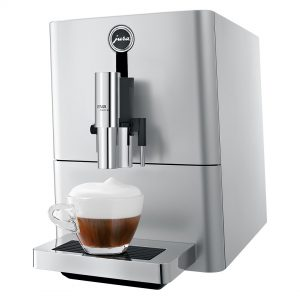 Jura ENA 90 Micro Silver  Bean to Cup Coffee Machine 4