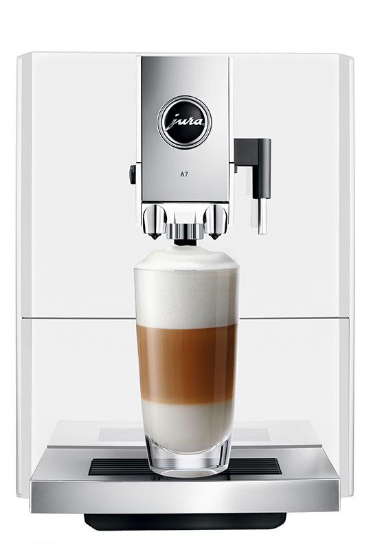 Jura ENA A7 Piano White Bean to Cup Coffee Machine 1