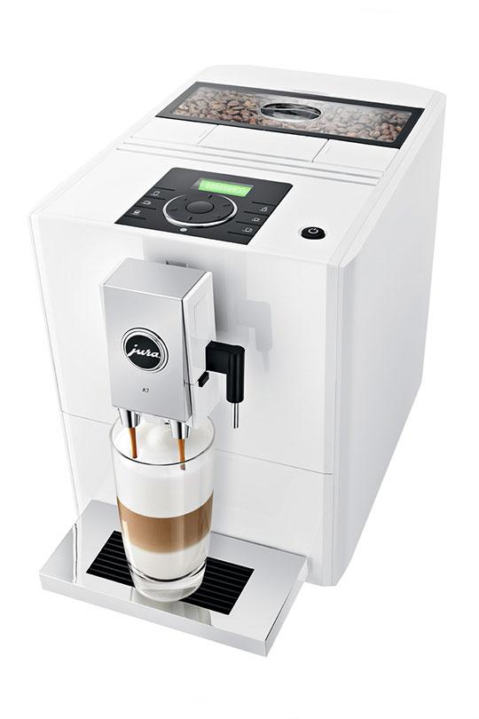 Jura ENA A7 Piano White Bean to Cup Coffee Machine 2