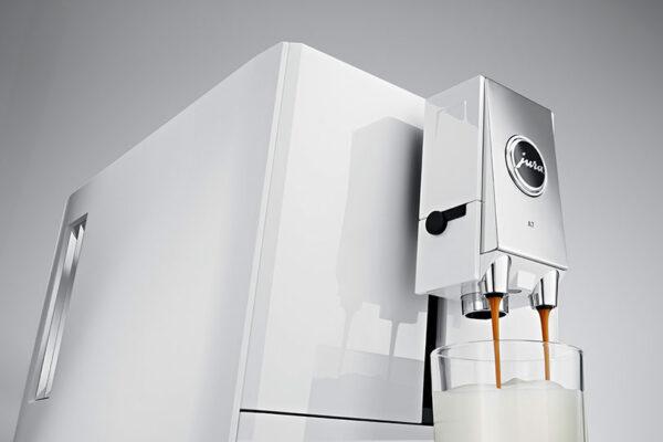 Jura ENA A7 Piano White Bean to Cup Coffee Machine 5