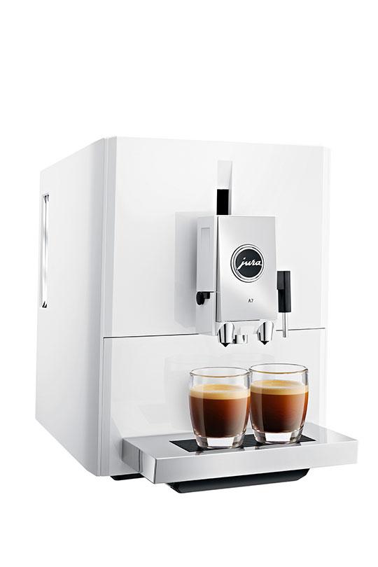 Jura ENA A7 Piano White Bean to Cup Coffee Machine