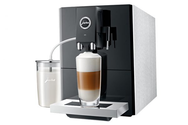 Jura ENA A9 Aluminium Bean to Cup Coffee Machine 1