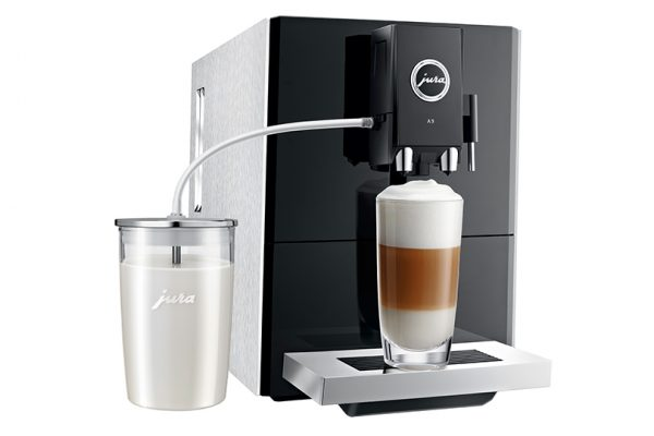 Jura ENA A9 Aluminium Bean to Cup Coffee Machine 2