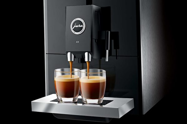 Jura ENA A9 Aluminium Bean to Cup Coffee Machine 4