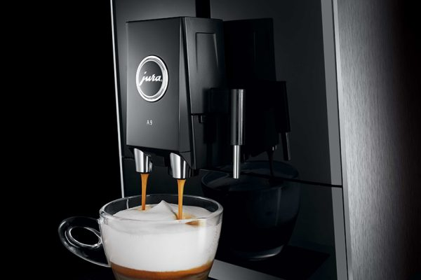 Jura ENA A9 Aluminium Bean to Cup Coffee Machine 5