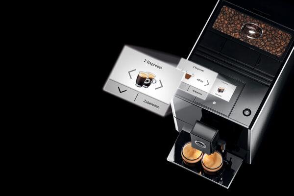 Jura ENA A9 Aluminium Bean to Cup Coffee Machine 6