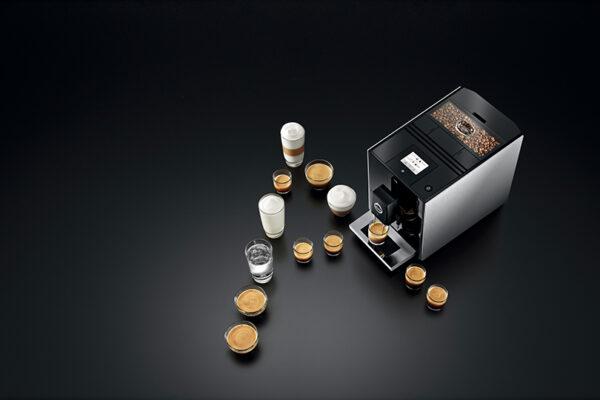Jura ENA A9 Aluminium Bean to Cup Coffee Machine 7