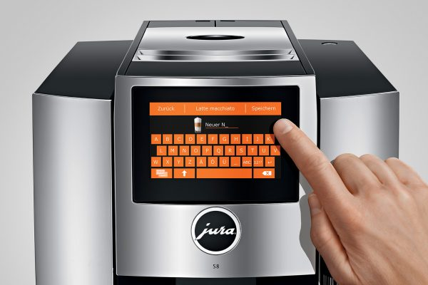 Jura S8 Chrome Bean to Cup Home Coffee Machine 9