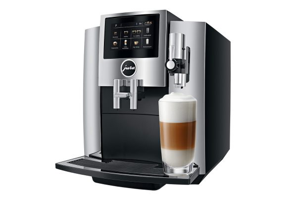 Jura S8 Chrome Bean to Cup Home Coffee Machine 1