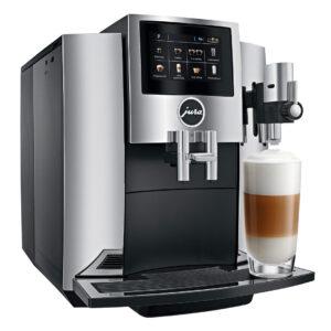 Jura S8 Chrome Bean to Cup Home Coffee Machine