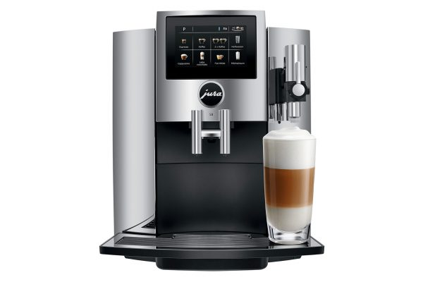 Jura S8 Chrome Bean to Cup Home Coffee Machine 5